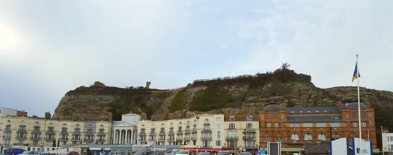 Hills behind Hastings