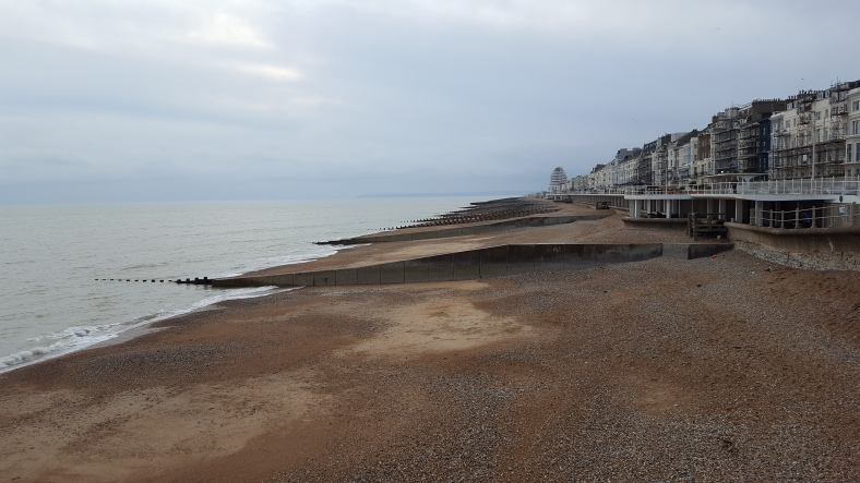 View from Hastings Pier