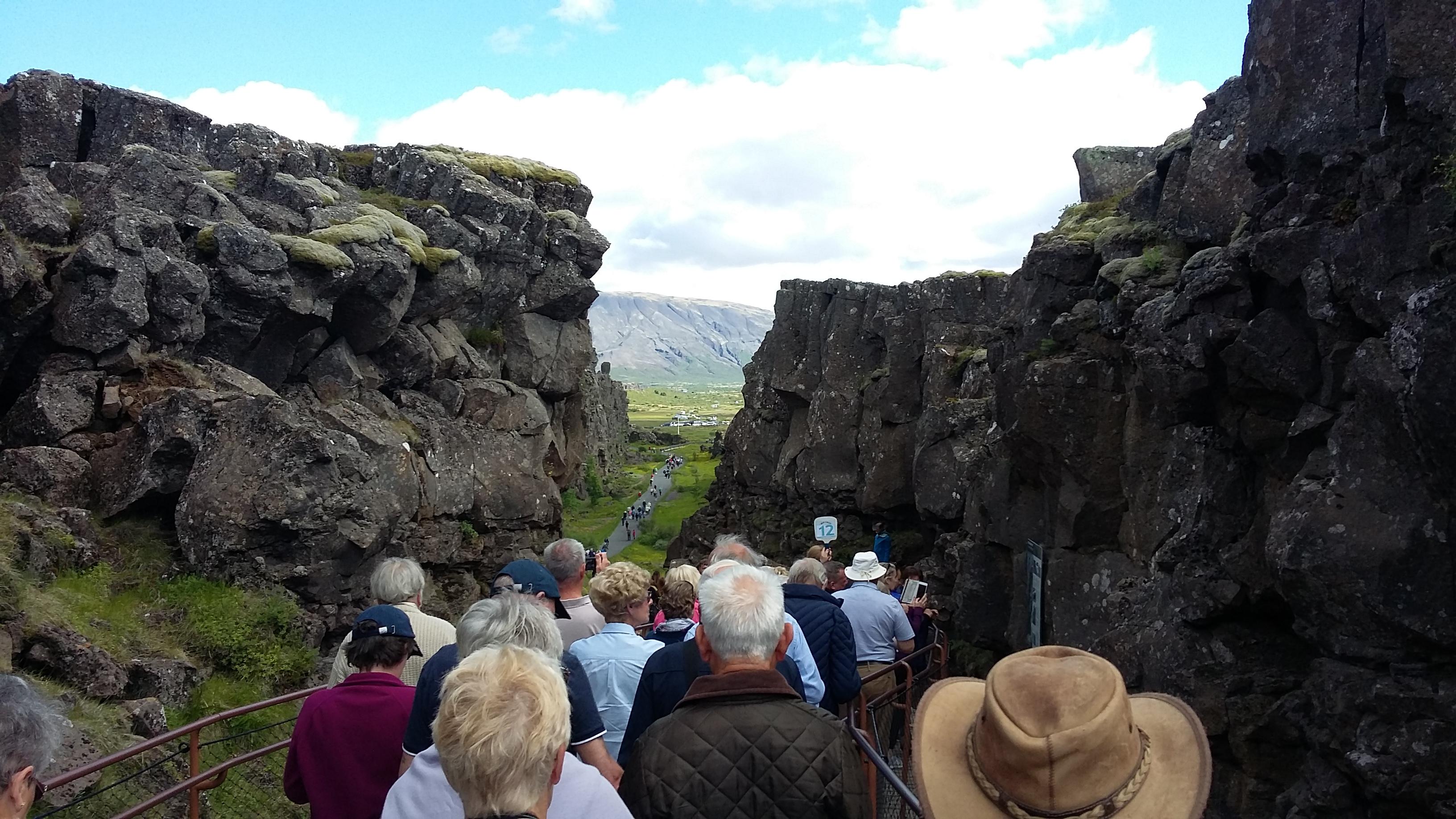 Tectonic Plates Separating